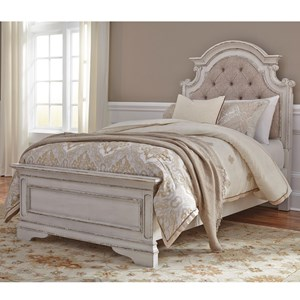 Liberty Furniture Magnolia Manor Full Upholstered Bed