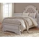 Liberty Furniture Magnolia Manor Twin Upholstered Bed  - Item Number: 244-YBR-TUB