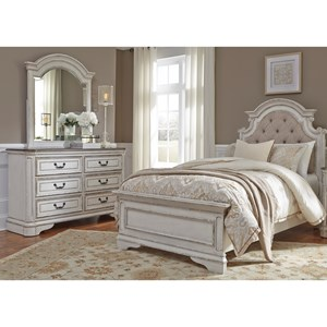 Liberty Furniture Magnolia Manor Twin Bedroom Group