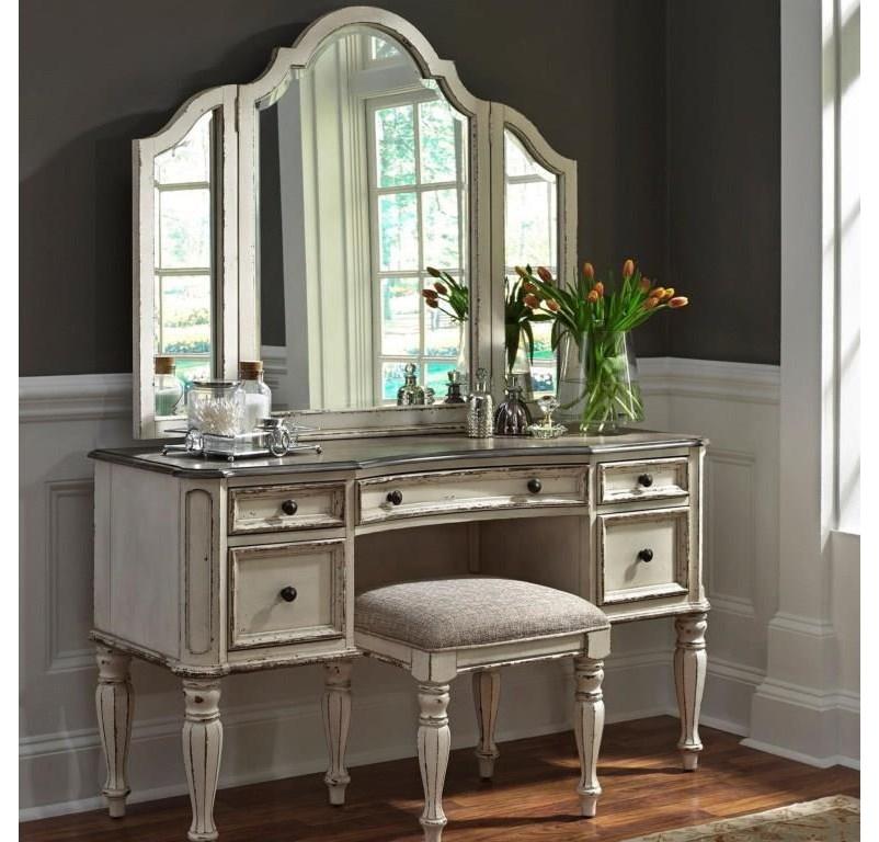 Vanity Desk & Mirror