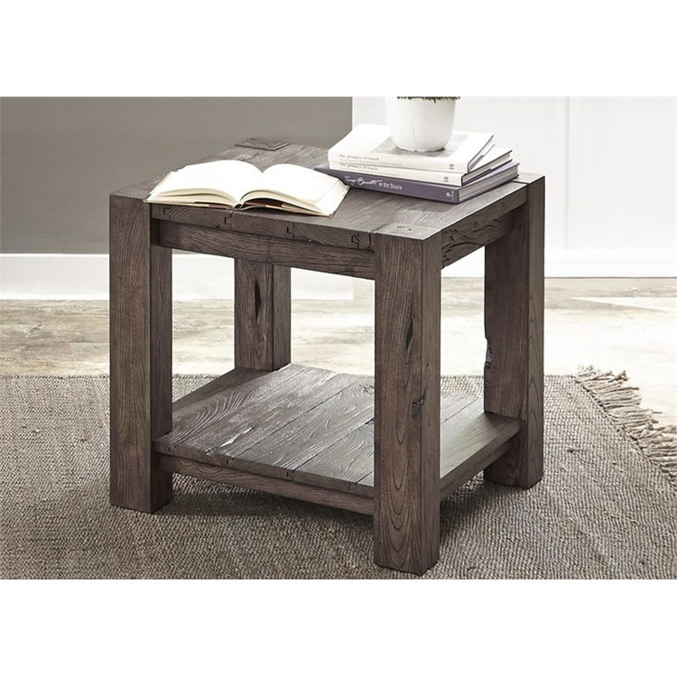 Liberty Furniture Mercer Court Occasional End Table - Item Number: 109-OT1020