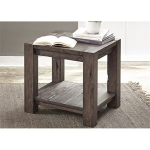 Liberty Furniture Mercer Court Occasional End Table