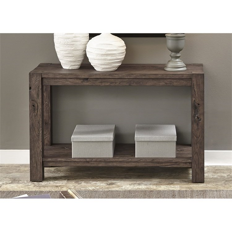 Astounding Mercer Court Occasional Sofa Table With Shelf By Liberty Furniture At Standard Furniture Ncnpc Chair Design For Home Ncnpcorg