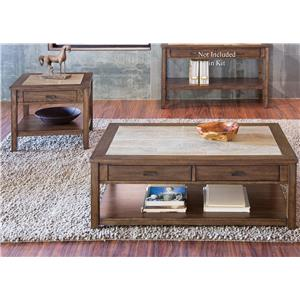 Liberty Furniture Mesa Valley Occasional 3 Piece Occasional Set