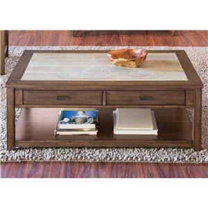 Liberty Furniture Mesa Valley Occasional Cocktail Table