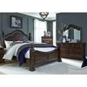 Liberty Furniture Messina Estates King Bedroom Group - Item Number: 737-BR-KPSDM