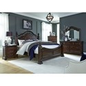 Liberty Furniture Messina Estates King Bedroom Group - Item Number: 737-BR-KPSDMCN