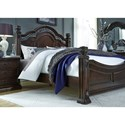 Liberty Furniture Messina Estates King Bedroom Group - Item Number: 737-BR-KPSDMN