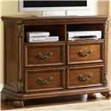 Vendor 5349 Messina Estates 4 Drawer Media Chest - Item Number: 737-BR45