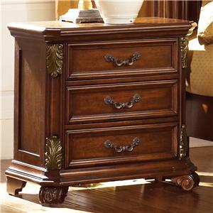Vendor 5349 Messina Estates 3 Drawer Night Stand