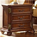 Liberty Furniture Messina Estates 3 Drawer Night Stand - Item Number: 737-BR61