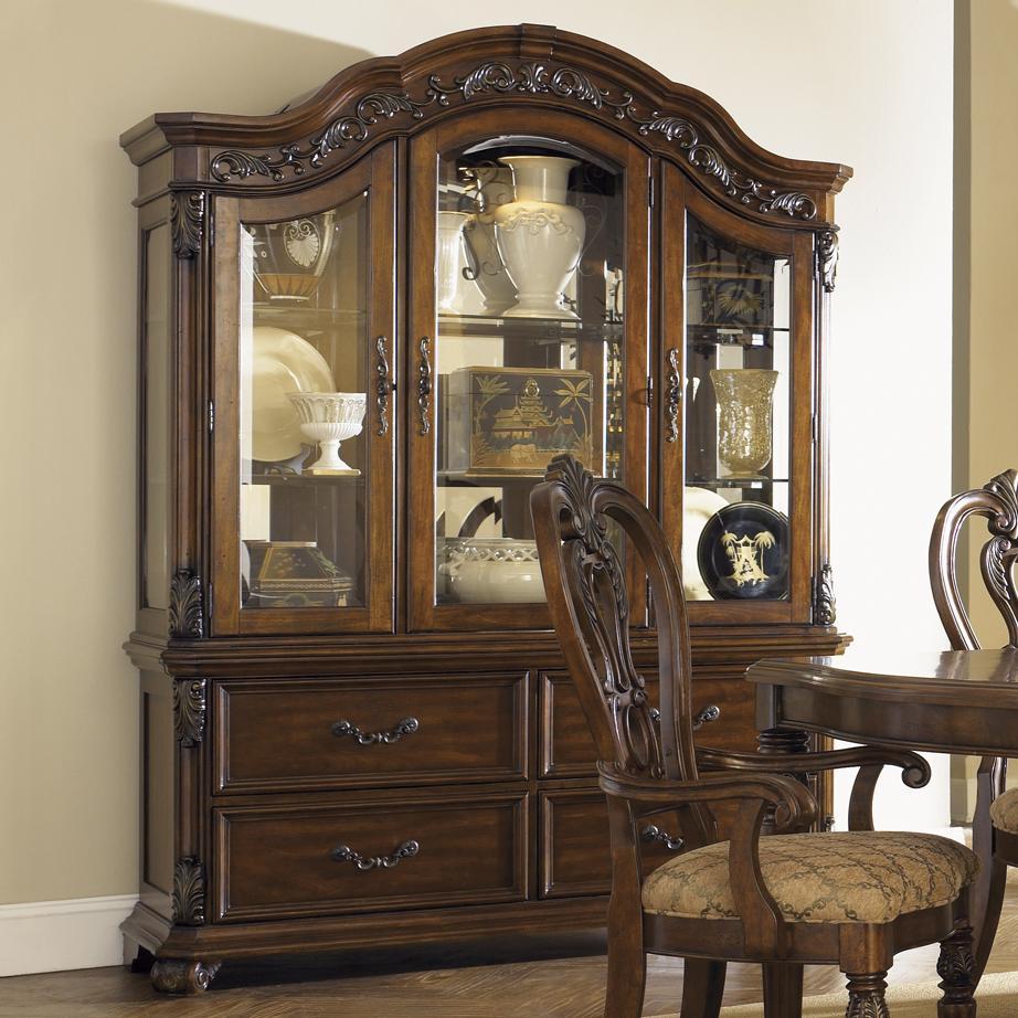 Liberty Furniture Messina Estates China Cabinet - Item Number: 737-CB+CH6384