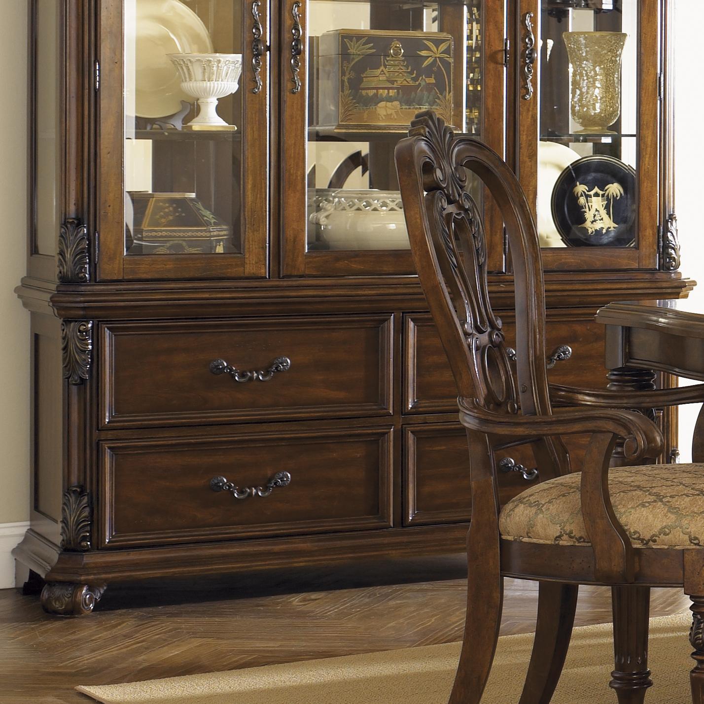 Liberty Furniture Messina Estates Dining Buffet - Item Number: 737-CB6384