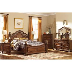 Liberty Furniture Estella 4PC Queen Bedroom Set