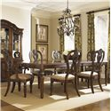 Liberty Furniture Messina Estates 7 Piece Dining Set - Item Number: 737-T4408+2xC2501A+4xS