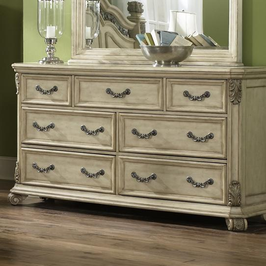 Liberty Furniture Messina Estates II 7 Drawer Dresser - Item Number: 837-BR31