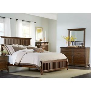 Liberty Furniture Mill Creek 458 Queen Bedroom Group
