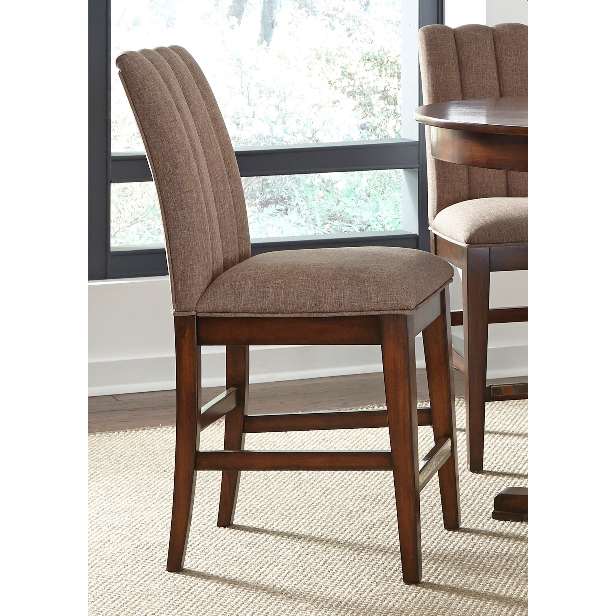 Liberty Furniture Mirage Dining Upholstered Counter Chair - Item Number: 234-B650124