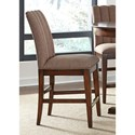 Vendor 5349 Mirage Dining Upholstered Counter Chair - Item Number: 234-B650124