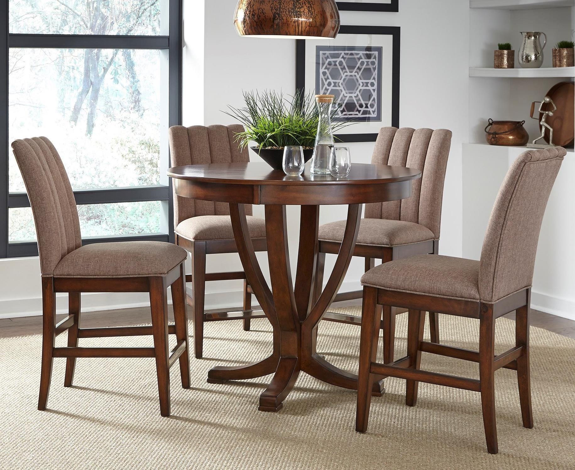 Liberty Furniture Mirage Dining 5 Piece Gathering Table Set  - Item Number: 234-CD-5GTS