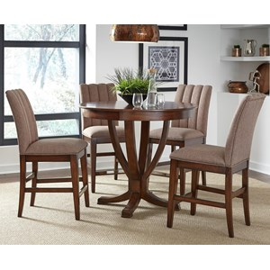 Vendor 5349 Mirage Dining 5 Piece Gathering Table Set