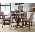 Liberty Furniture Mirage Dining 5 Piece Gathering Table Set  - Item Number: 234-CD-5GTS