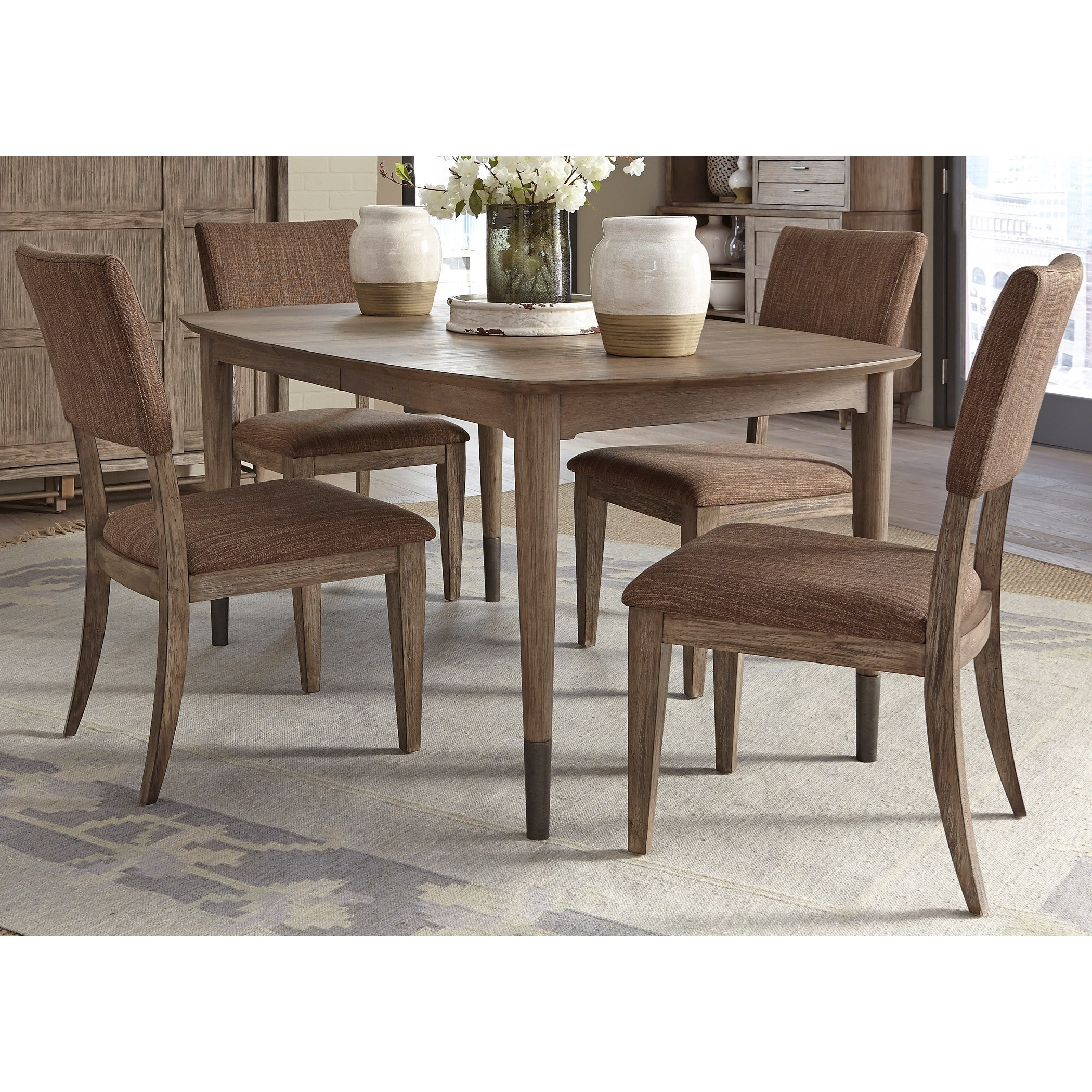Liberty Furniture Miramar Upholstered Side Chair Prime Brothers Furniture Dining Side Chairs