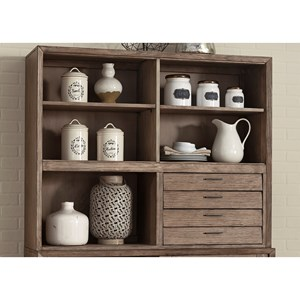 Liberty Furniture Miramar 4 Drawer Hutch