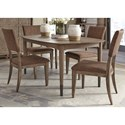 Liberty Furniture Miramar 5 Piece Oval Table Set  - Item Number: 514-DR-5OTS