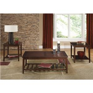 Vendor 5349 Missoula 3-Piece Occasional Table Set