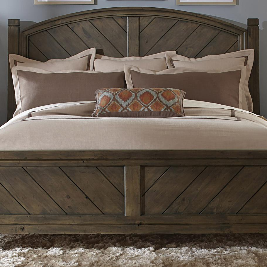 Liberty Furniture Modern Country Queen Poster Headboard - Item Number: 833-BR01