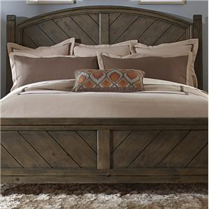 Liberty Furniture Modern Country King Poster Headboard