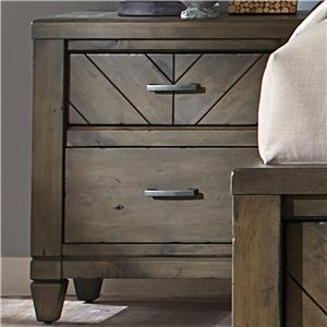 Liberty Furniture Modern Country 2 Drawer Night Stand