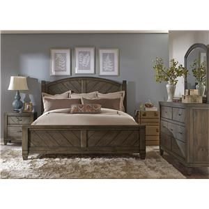 Liberty Furniture Modern Country 3 Piece Bedroom Set