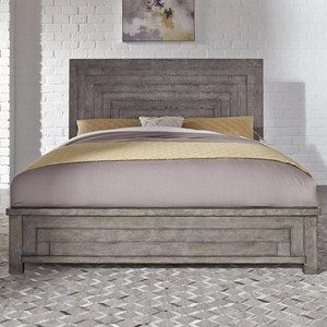 Contemporary King Low Profile Bed