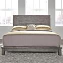 Liberty Furniture Modern Farmhouse King Platform bed - Item Number: 406-BR-KPL