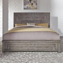 Liberty Furniture Modern Farmhouse Queen Low Profile Bed - Item Number: 406-BR-QPB