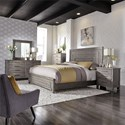 Liberty Furniture Modern Farmhouse Queen Bedroom Group - Item Number: 406-BR-QPBDMCN