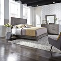 Liberty Furniture Modern Farmhouse Queen Bedroom Group - Item Number: 406-BR-QPLDM