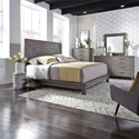 Liberty Furniture Modern Farmhouse Queen Bedroom Group - Item Number: 406-BR-QPLDMC
