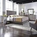 Liberty Furniture Modern Farmhouse Queen Bedroom Group - Item Number: 406-BR-QPLDMC