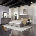 Liberty Furniture Modern Farmhouse Queen Bedroom Group - Item Number: 406-BR-QSBDMC