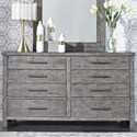 Liberty Furniture Modern Farmhouse Dresser - Item Number: 406-BR31