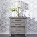 Liberty Furniture Modern Farmhouse Nightstand - Item Number: 406-BR61