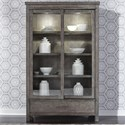 Liberty Furniture Modern Farmhouse Display Cabinet - Item Number: 406-CH4877