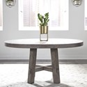 Liberty Furniture Modern Farmhouse Round Dining Table - Item Number: 406-DR-ROS
