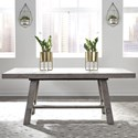 Liberty Furniture Modern Farmhouse Trestle Table - Item Number: 406-DR-TRS
