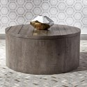 Liberty Furniture Modern Farmhouse Drum Cocktail Table - Item Number: 406-OT1011