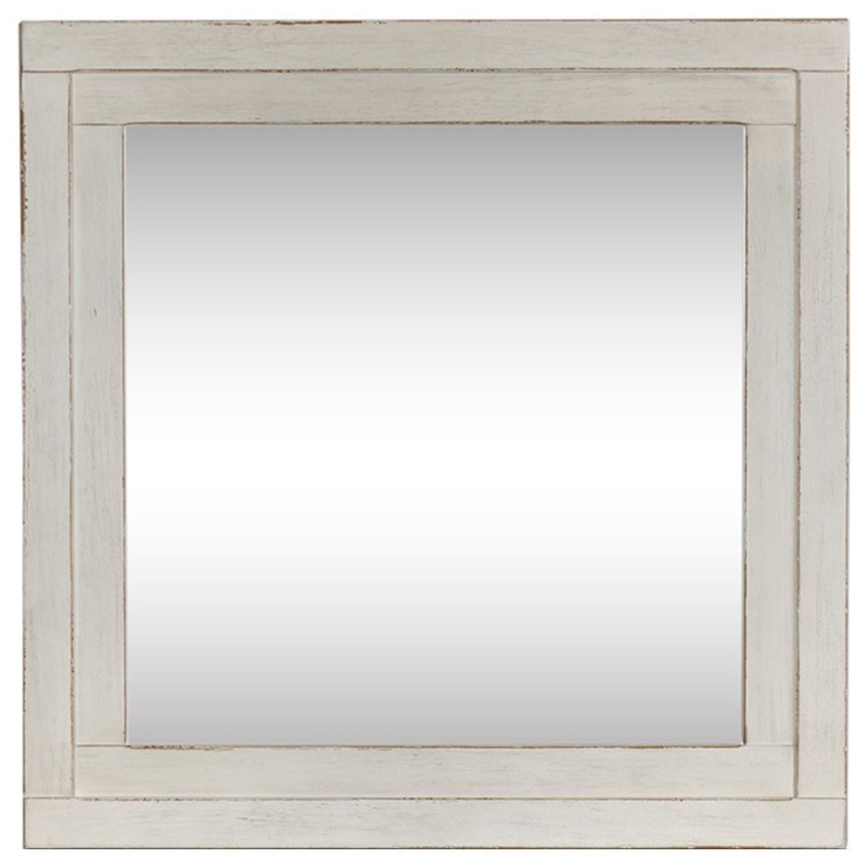 Modern Farmhouse Mirror by Liberty Furniture at Beck's Furniture