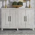 Liberty Furniture Modern Farmhouse Buffet - Item Number: 406W-CB6443